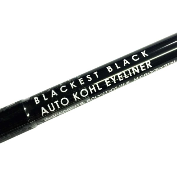 Exposed Cosmetics Black Kohl Auto Twist Up Pencil