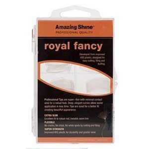 Amazing Shine Royal Fancy Nail Tips - Clear