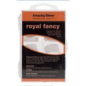 Amazing Shine Royal Fancy Nail Tips - White