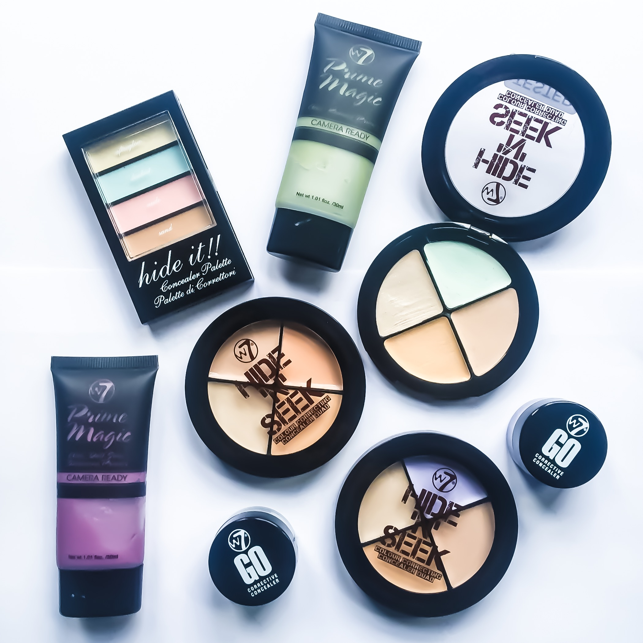Colour Correctors – W7 Hide and Seek