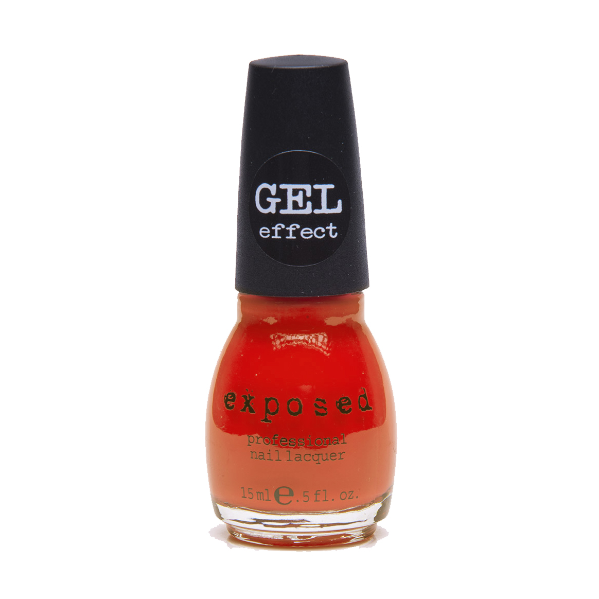 Exposed gel coral glaze