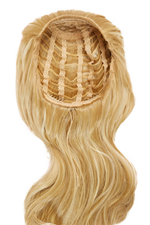 Hairaisers Live It Loud 3/4 wig – Glamorous Curl – Ombré Butterscotch / Nutmeg