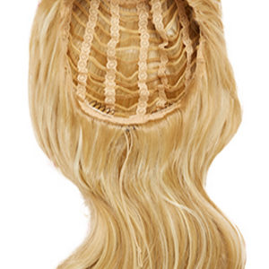 Hairaisers Live It Loud 3/4 wig – Glamorous Curl – Ombré Platinum / Chestnut