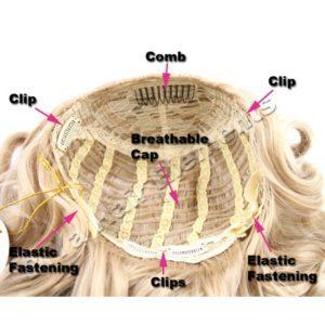 BiYa Half Head Wig (3/4 wig) – Natural Wave – Colour 2T33