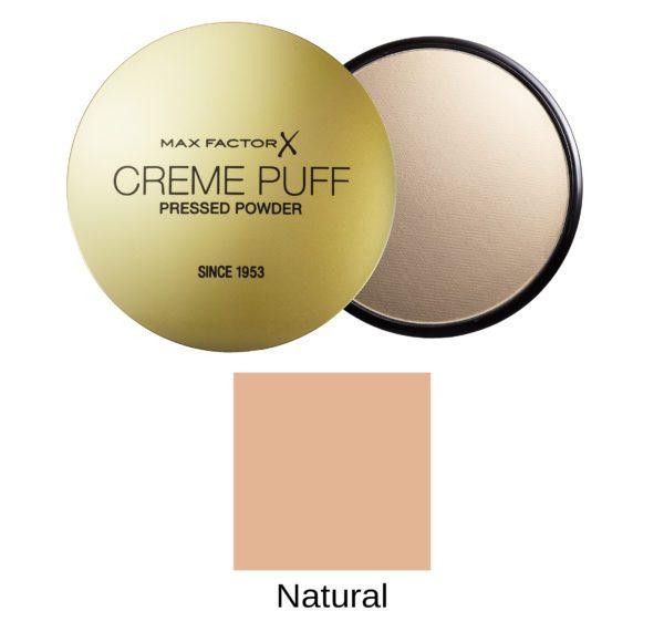 creme puff - natural