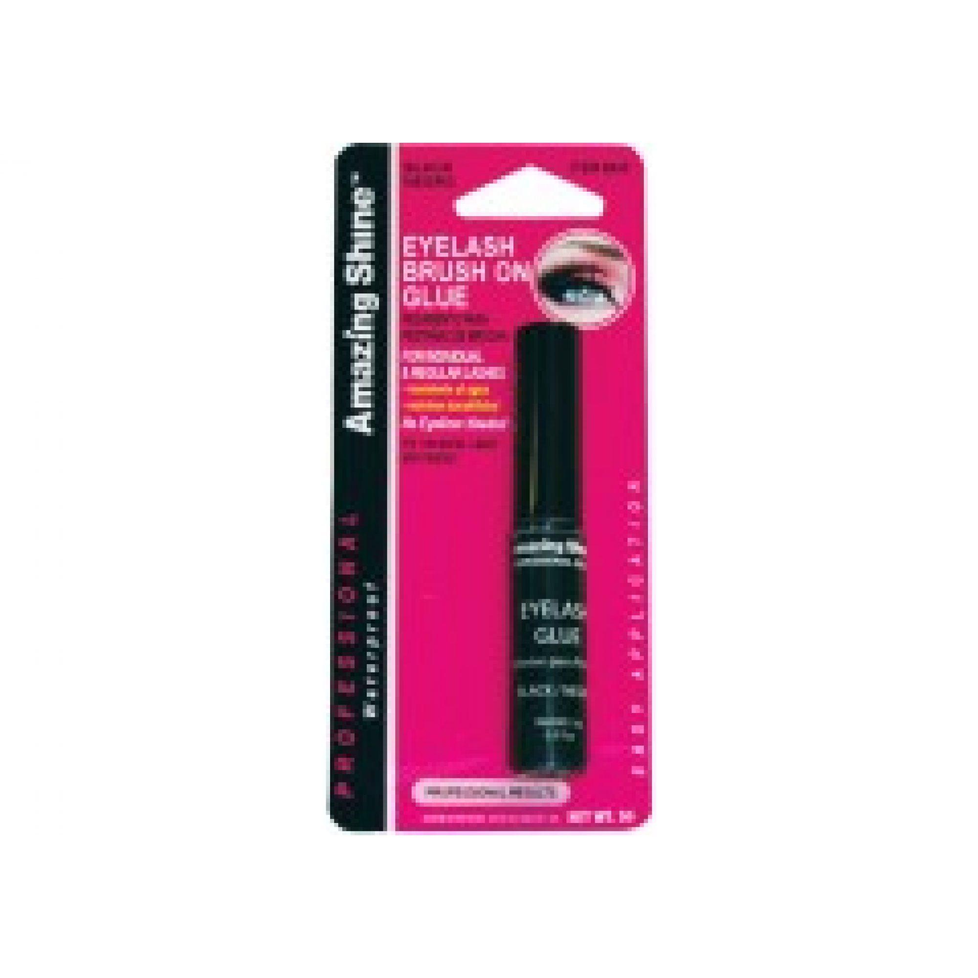Amazing Shine Brush On Lash Glue Black Just Essentials