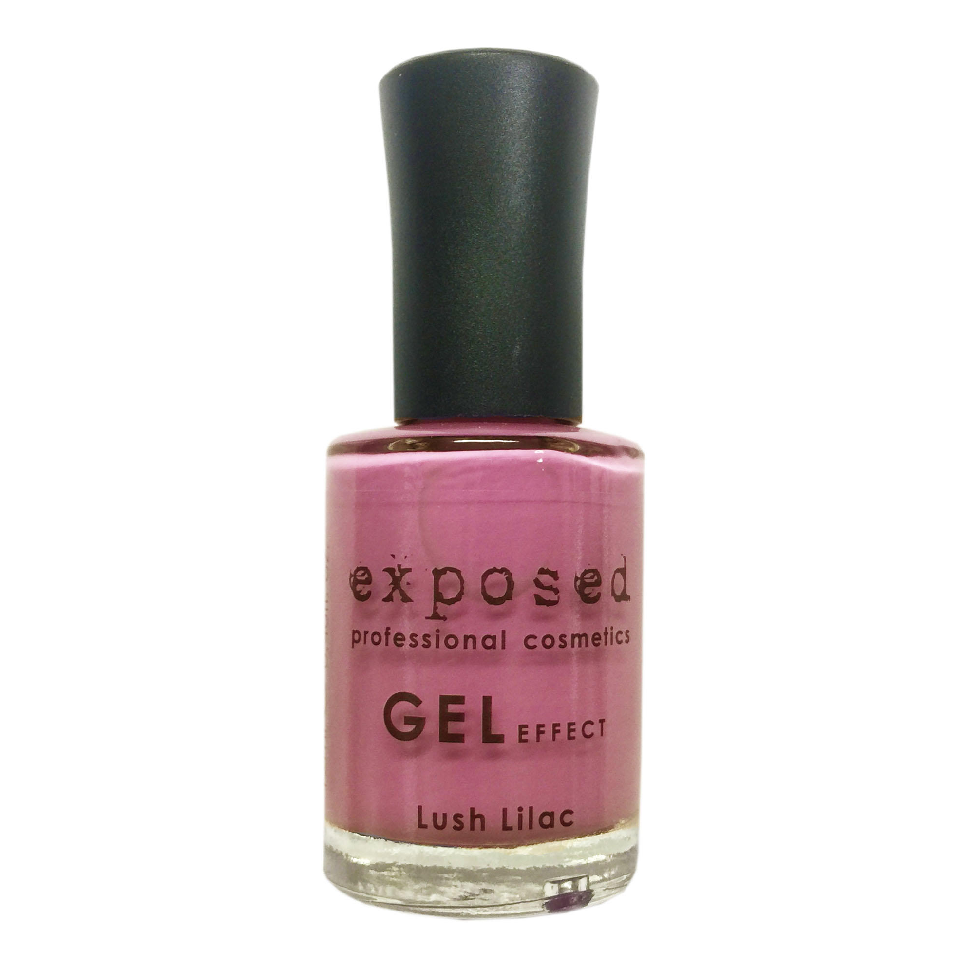 Exposed Cosmetics Gel Effect Nail Lacquer – Lush Lilac - Just Essentials