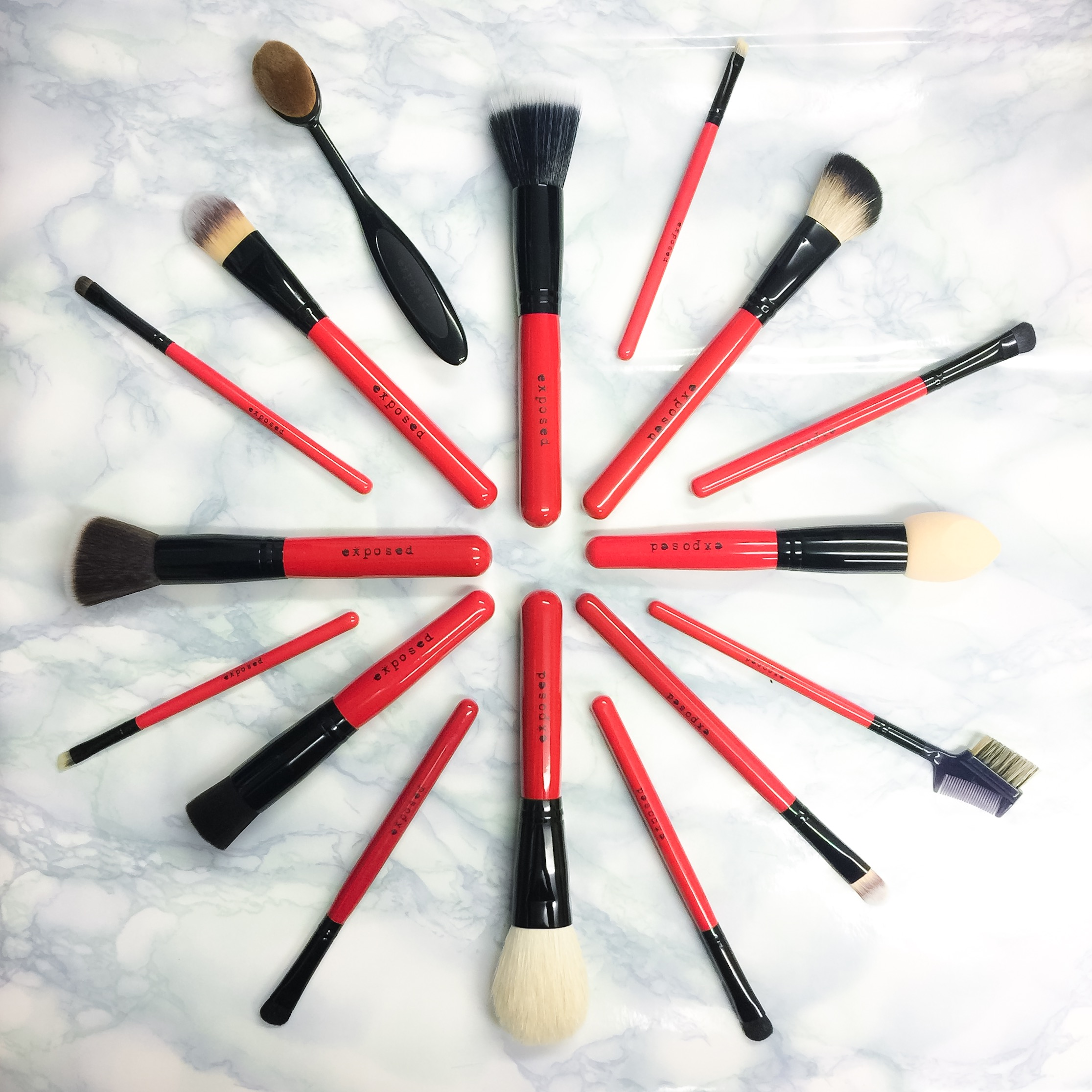 Exposed Cosmetics Pro Make Up Tools