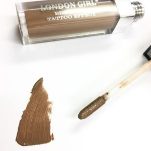 London Girl – Tattoo Effect Brow Gel – Blonde