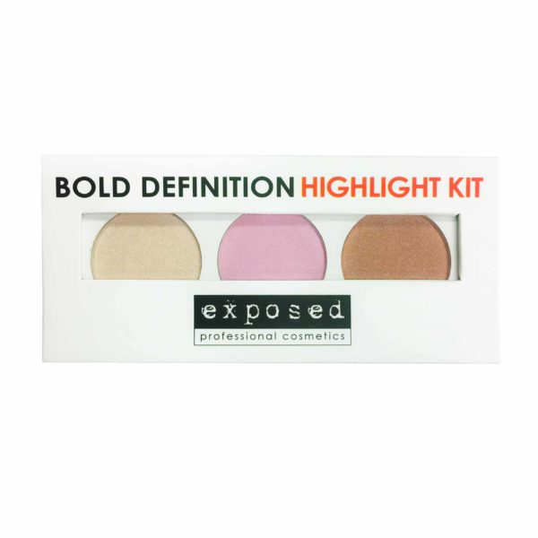 Exposed Cosmetics - Bold Definition Highlight Kit