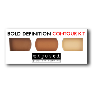 Exposed Cosmetics – Bold Definition Contour Kit