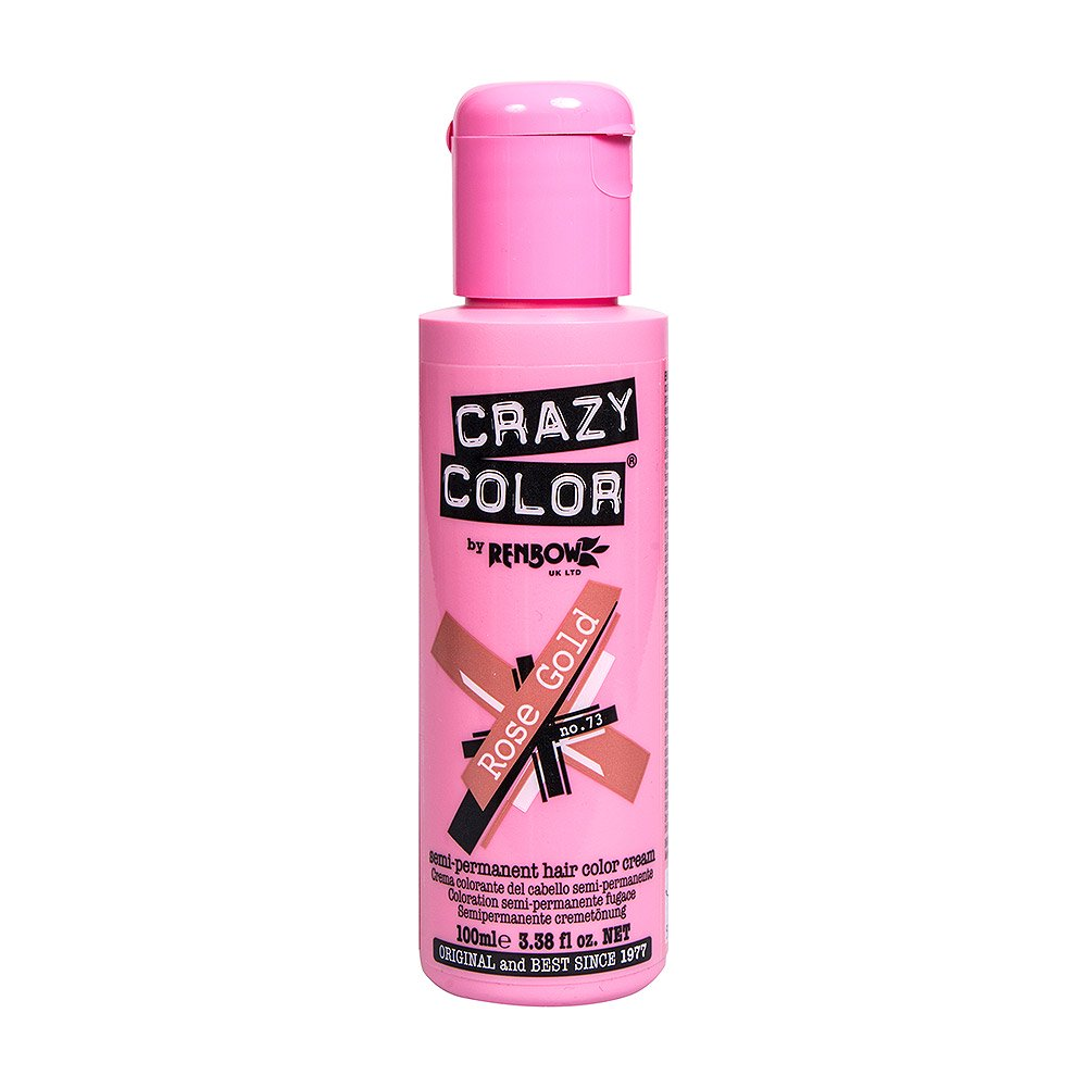 Crazy Color Hair Dye Rose Gold Just Essentials