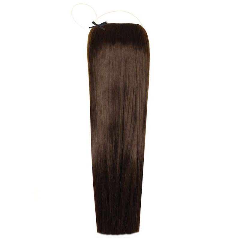Sale Halo Synthetic Hair Extensions 18 Coco Brown Just