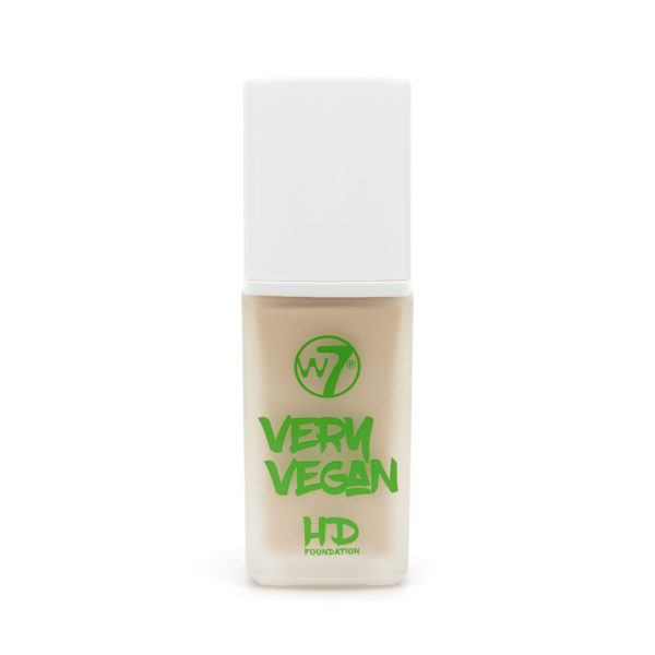 W7 Very Vegan – HD Foundation