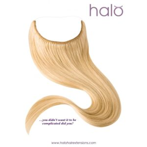 SALE | Halo Hair Extensions – 16″ Colour #99J