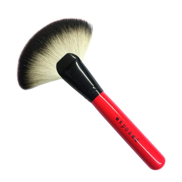 Exposed Cosmetics - Deluxe Fan Brush