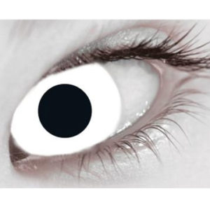 MesmerEyez Mini Sclera Coloured Eyewear – White