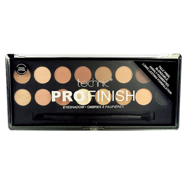 Pro Finish Eyeshadow Palette - Toffee
