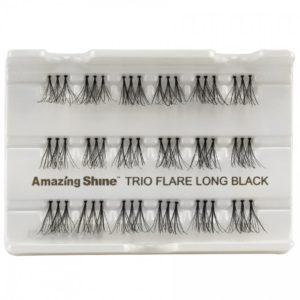 Amazing Shine Trio Flare Eyelashes - Long