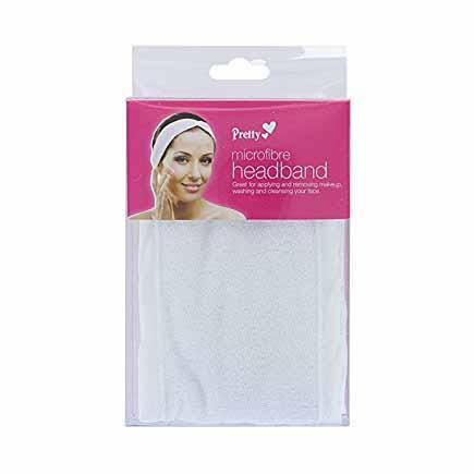 White Microfibre Headband