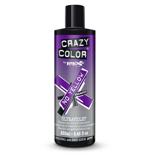 Crazy Color Ultraviolet No Yellow Shampoo
