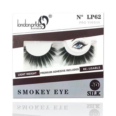 London Pride 3D Silk Eyelashes - Pro Virgin
