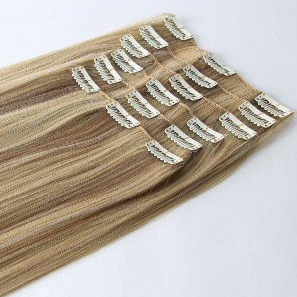 Stranded Clip In Human Hair Extensions