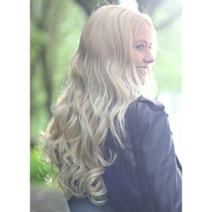Stranded One Piece Clip In Hair Piece – Curly