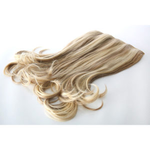 Stranded One Piece Clip In Hair Piece – Flicky 18/20″