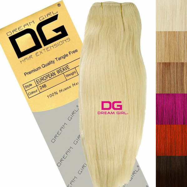 Just Essentials Dream Girl 100 Human Hair Weft Extensions