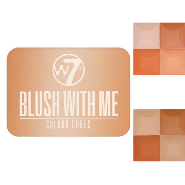 W7 Blush With Me