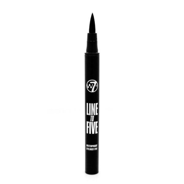 W7 Line To Five Waterproof Felt Pen Eyeliner