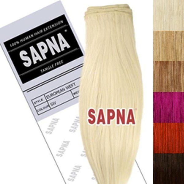 Sapna Premium Blend Weft Hair Extensions