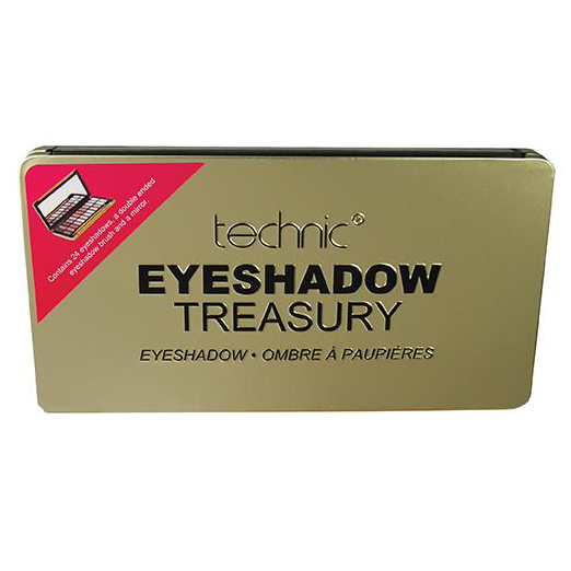 Technic Eyeshadow Treasury - Gold