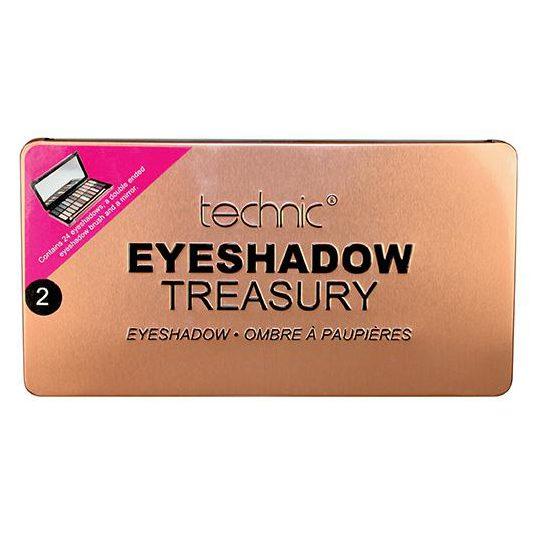 Technic Eyeshadow Treasury - Rose Gold