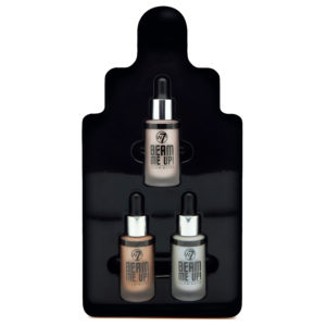 W7 Beam Me Up Liquid Highlighter Kit Gift Set