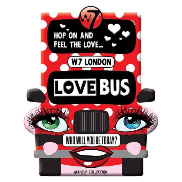 W7 Love Bus Make Up Collection
