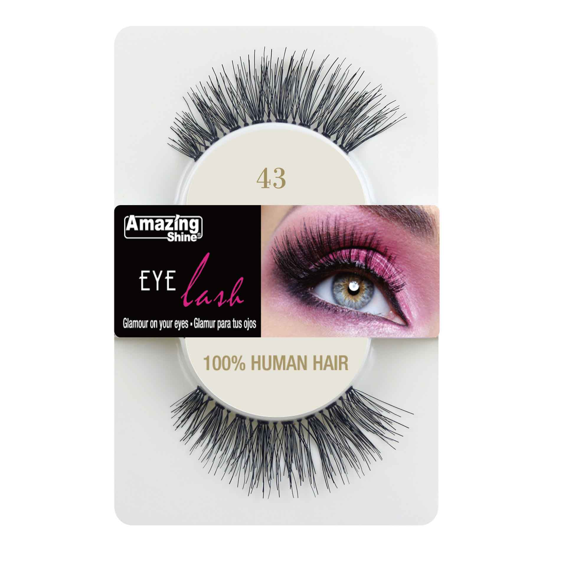 511a584d1fb Just Essentials | Amazing Shine 100% Human Hair Eyelashes