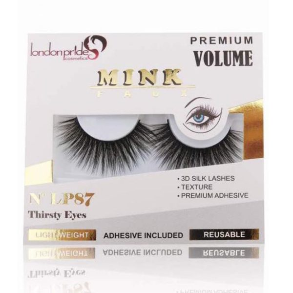 London Pride Faux Mink Eyelashes - Thirsty Eyes