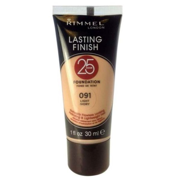 Rimmel Lasting Finish Foundation Light Ivory