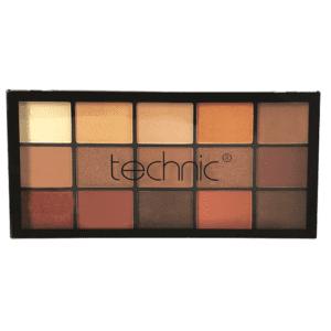 Technic 15 Eyeshadow Palettes