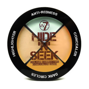 W7 Hide 'N' Seek Colour Correcting Quad