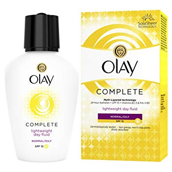 Olay Complete Lightweight 3 in 1 Moisturiser Normal/Oily