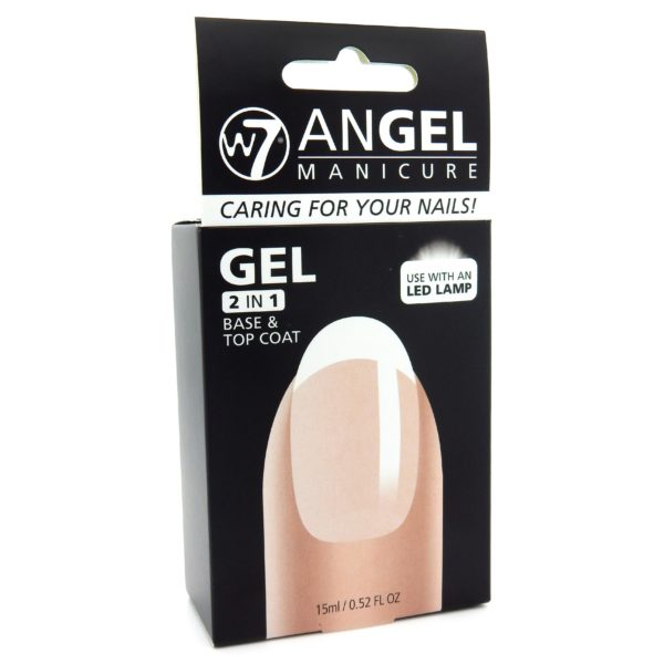 W7 Angel Manicure 2 in 1 Base & Top Coat