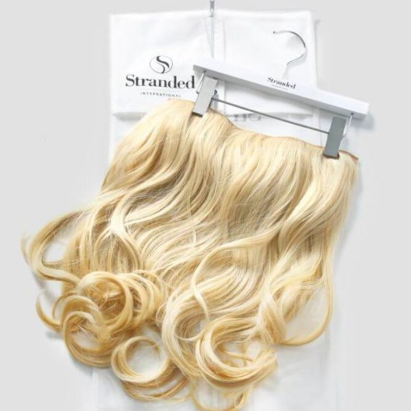 Stranded Hair Extensions Suit Case & Hanger