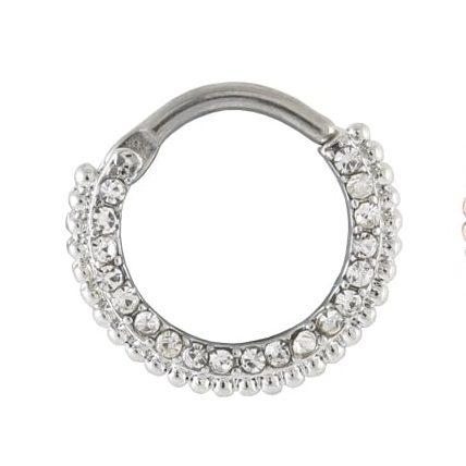 Septum Ring - Jewelled