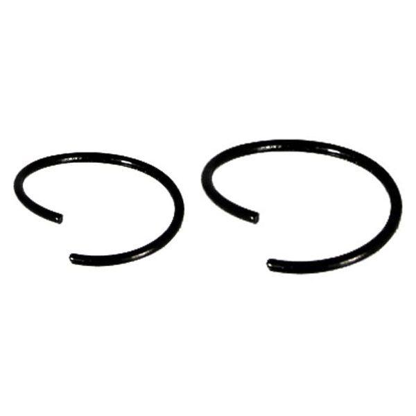 Twist Nose Ring - PVD Black