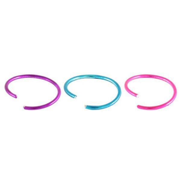 Twist Nose Ring - Metallic