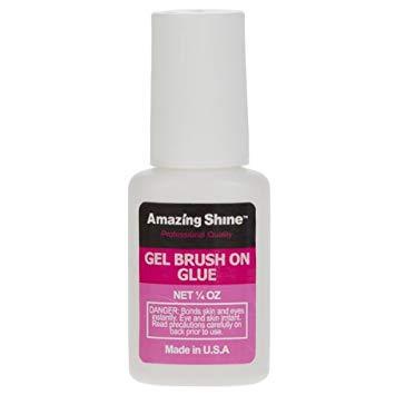 Amazing Shine Gel Brush On Nail Glue
