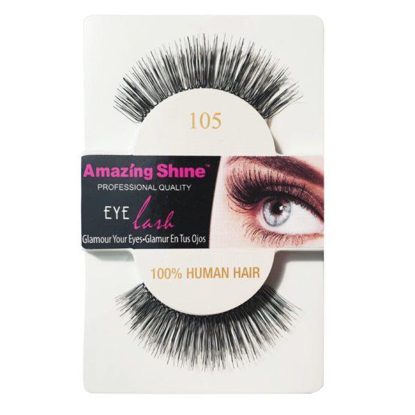 False Eyelashes - 100% Human Hair No. 105 by Amazing Shine